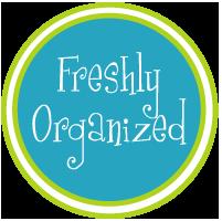 Freshly Organized