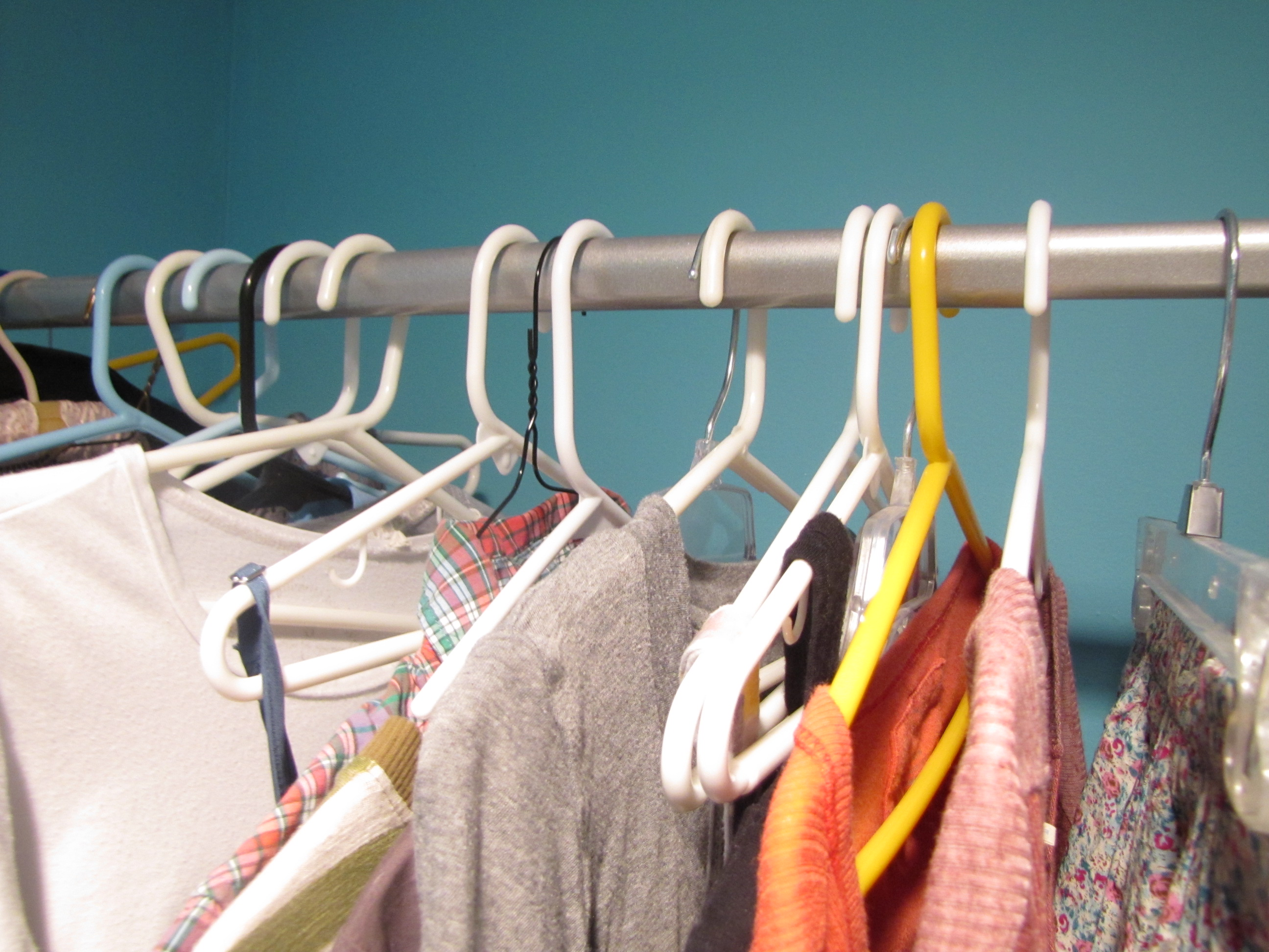 Oh, But It Is True. To Figure Out If You Are Really Wearing All Of Your  Clothes, Try This Trick. Place All You Hangers Backwards And Only Put Them  The ...